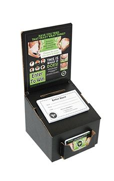 lead box Awesome to leave in shops, hair salons, tanning salons...  http://wrapwitherint.myitworks.com/