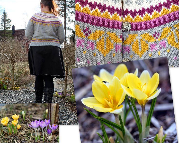 ~GNIST~: Vårtegn og ny Lilje kofte