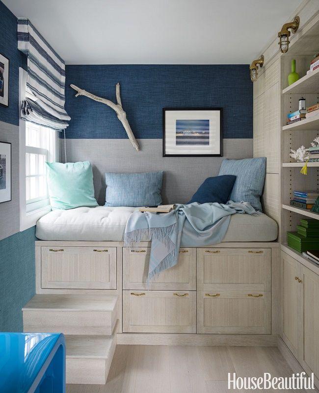 оформленные в морском стиле прибрежного дома в Массачусетсе!