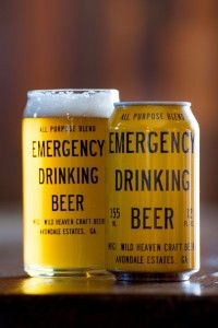 Emergency Drinking Beer: Pils-style Session Ale. Wild Heaven Craft Beers - Avondale Estates, GA