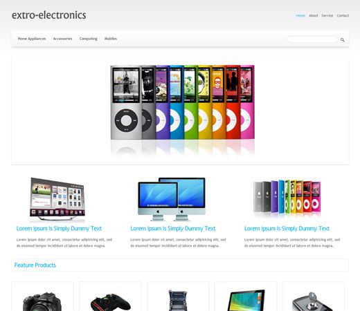 Mobile Website Templates 15 Best Free Ecommerce Html Templates Images On Pinterest  Free