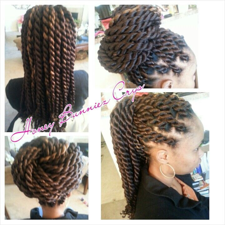 Make Your Own Crochet Box Braids : ... Pinterest Protective styles, Marley braids and Crochet marley hair