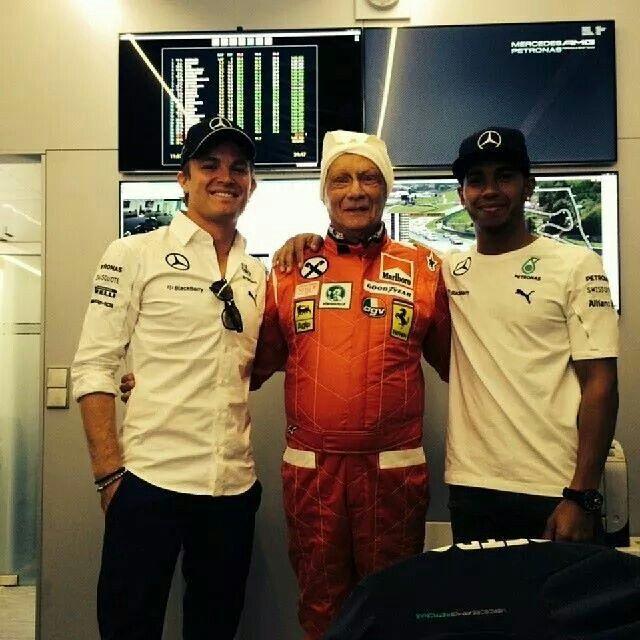 Lewis Hamilton & friends