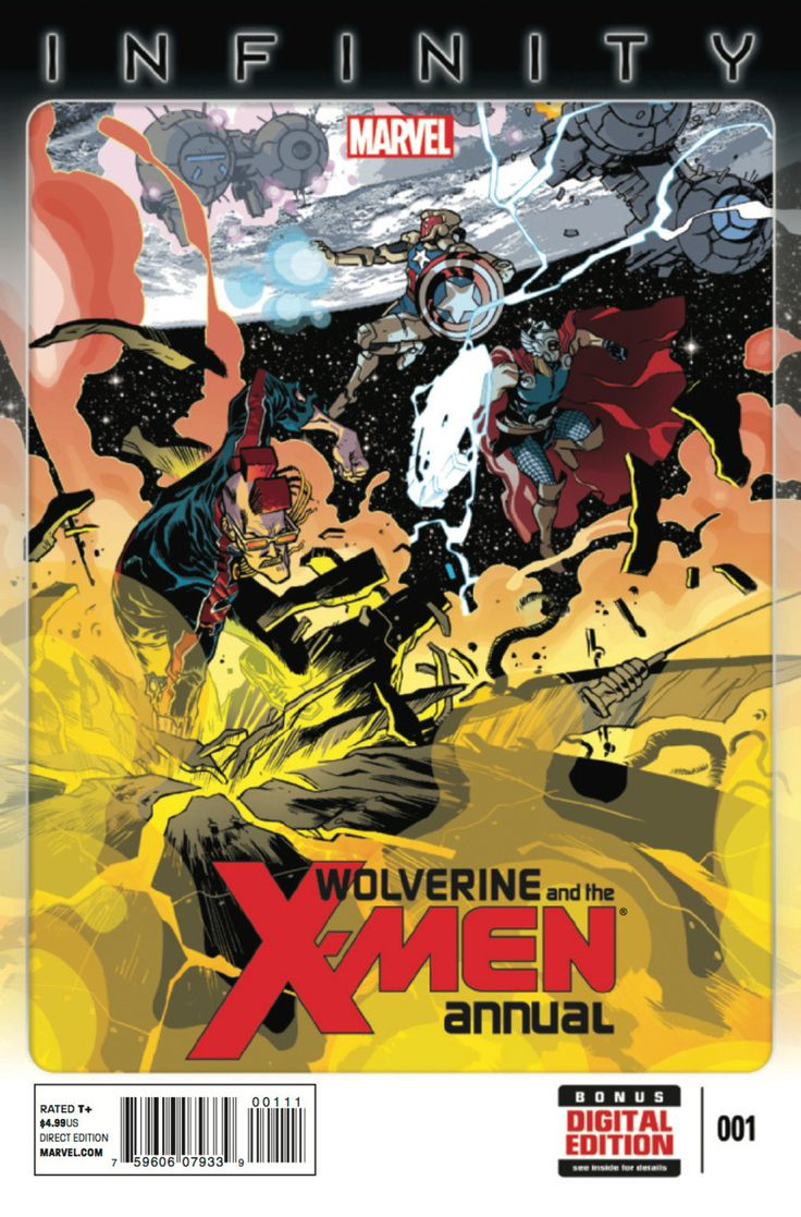 Marvel - Wolverine and the X-Men (2014) Annual #1 1st Print