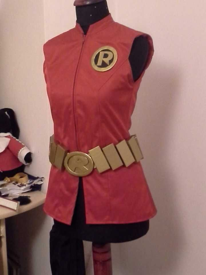 fem!Robin (fem!Damian Wayne) cosplay WIP - Damian Wayne - Comic Vine