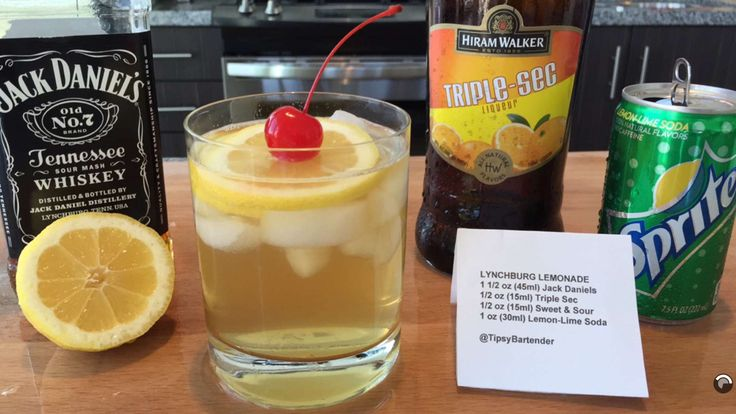 Upgraded Lynchburg Lemonade Recipe — Dishmaps