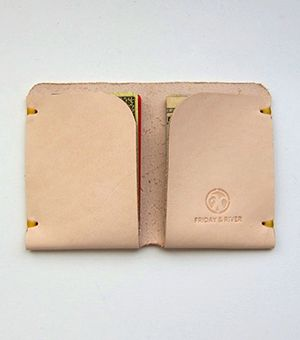 McGraw Leather Card Holder (Natural)