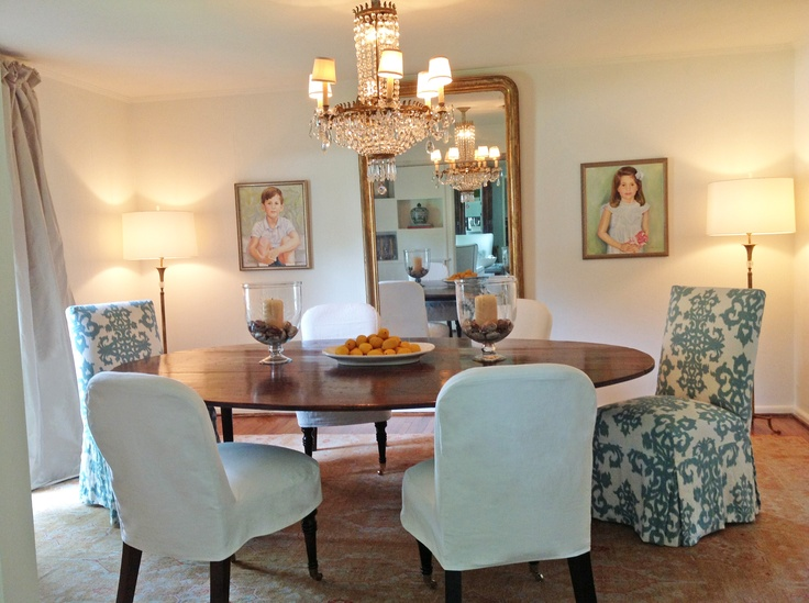 Dining Room Of Houston Based Designer Patti Perrier Quatrine Parsons And Tea