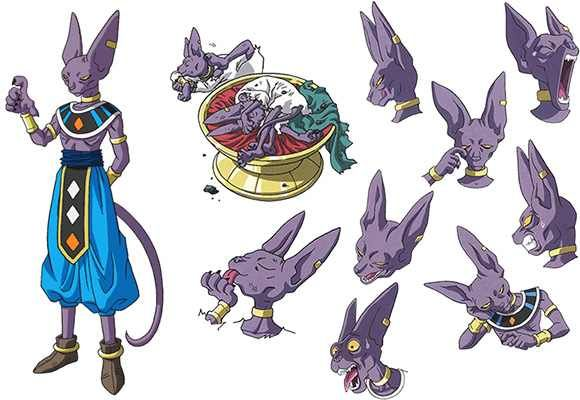 Character Design Dragon Ball Z : Best images about beerus is bæ on pinterest