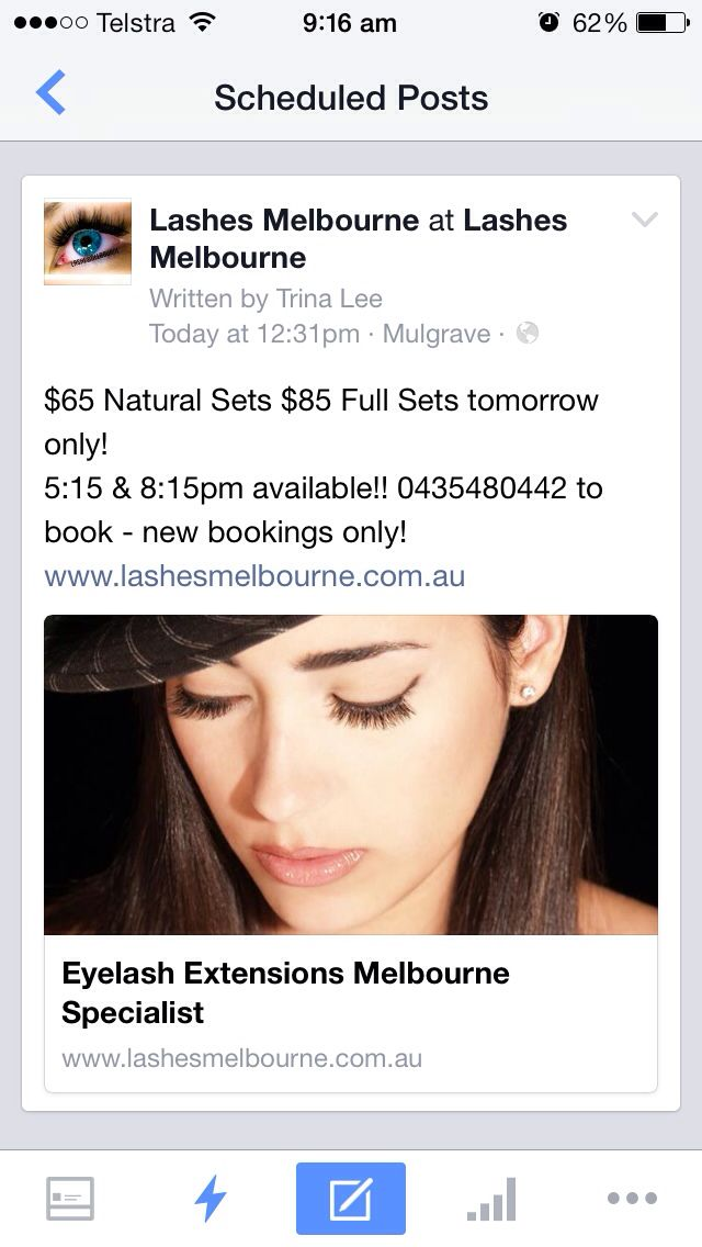 Thursday 23/4/15 - save $$ on new sets. 0435480442 to book http://goo.gl/cuf7bZ