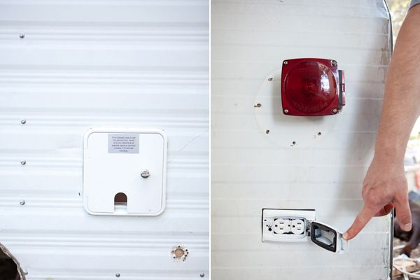Awesome blog about a camper renovation by amateurs like us! Super great idea on the external outlet. Gonna add one of those now!