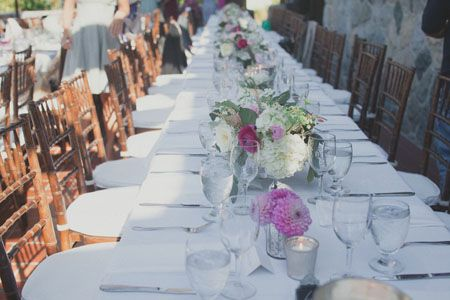 Brides: A Romantic Garden Wedding at Vancouver's Cecil Green Park House