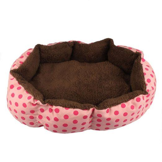 Malloom® Morbido Cotone Vello Staccabile Animale domestico Cane Cucciolo Gatto Letto Caldo Casa Peluche Accogliente Nido Gabbia Mat Tappetino per Cani Accessori Blu EURO 6,94