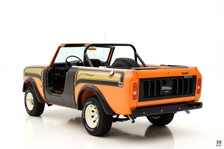 1978 INTERNATIONAL SCOUT SSII CONVERTIBLE