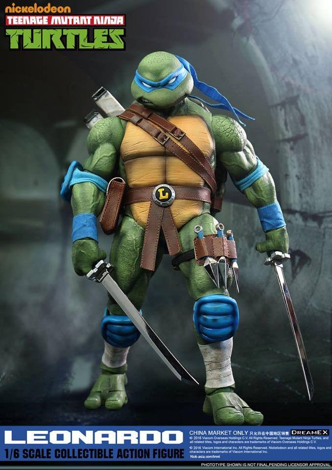 1/6 Scale Leonardo Teenage Mutant Ninja Turtle Figure by DreamEX