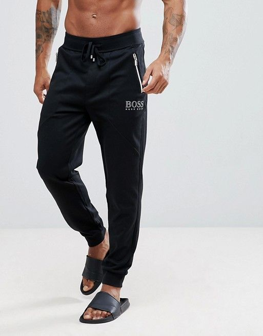 BOSS By Hugo Boss Tracksuit Joggers with Cuffed Ankle in Regular Fit