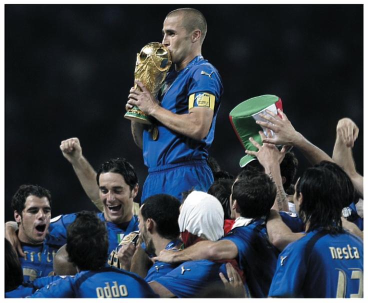 mondiali di calcio 2006 formazione italia - team italy - campioni del mondo