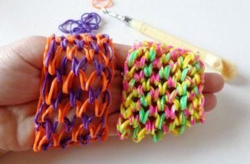 Браслет Чешуя дракона из резинок - как сделать, видео. Плетеные браслеты из резинок Чешуя дракона