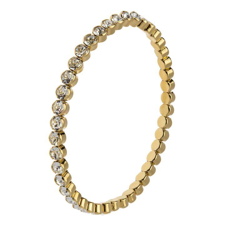 CEER White adjustable bracelet