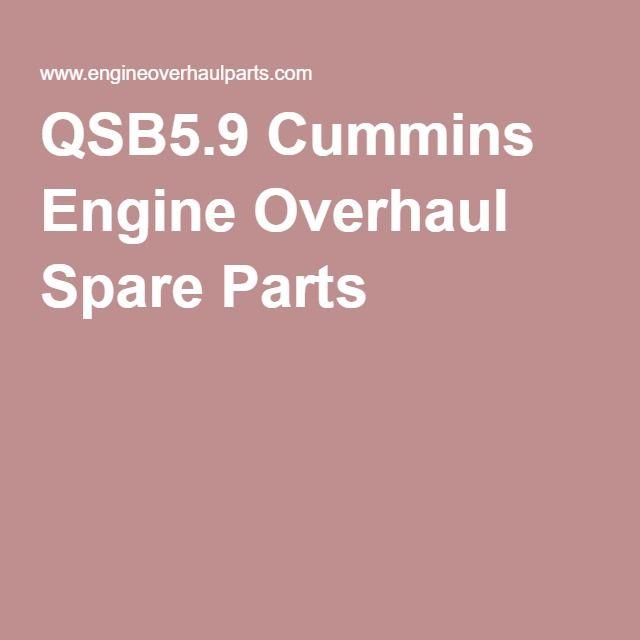 QSB5.9 Cummins Engine Overhaul Spare Parts