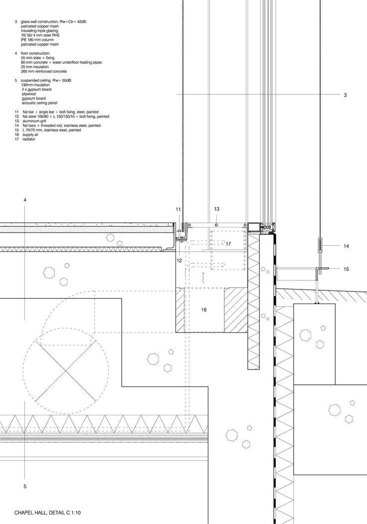 Avanto Architects.  Chapel of St.Lawrence. Dettagli interni