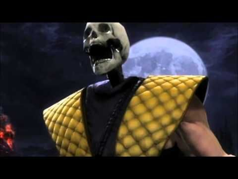 [MAD]mortal kombat 9 themesong music video[2011]