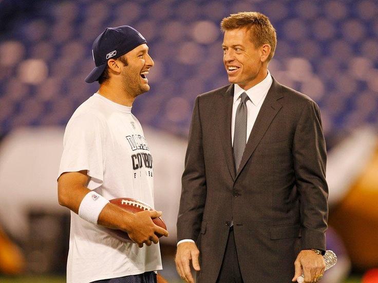Tony Romo & Troy Aikman