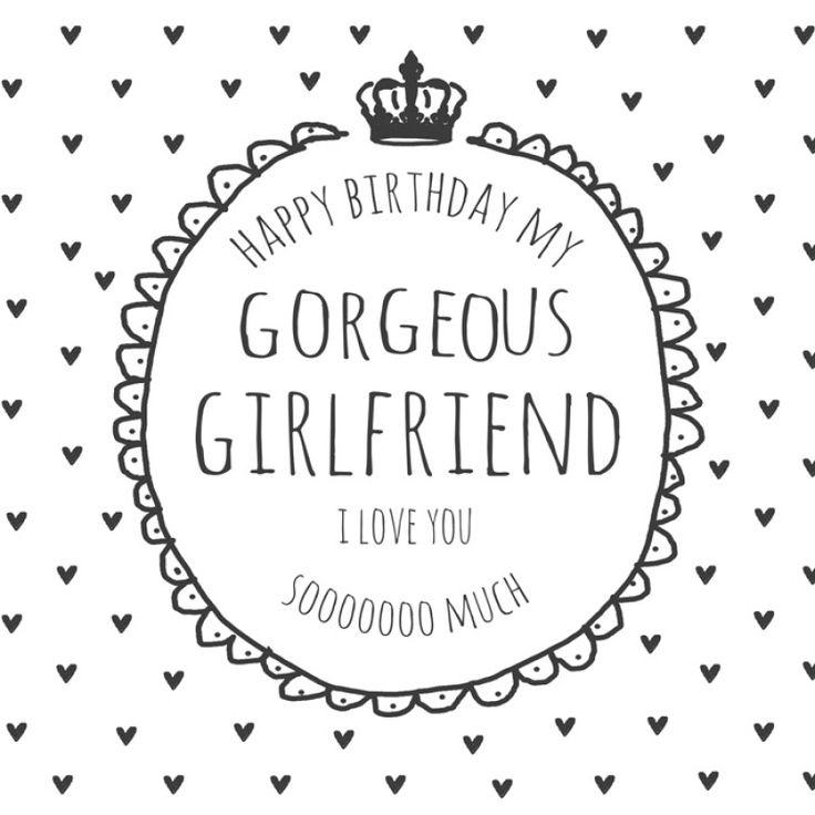 Girlfriend Birthday