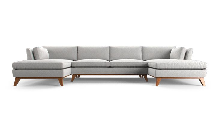 Like this style...Roller U-Chaise Sectional (3 piece)