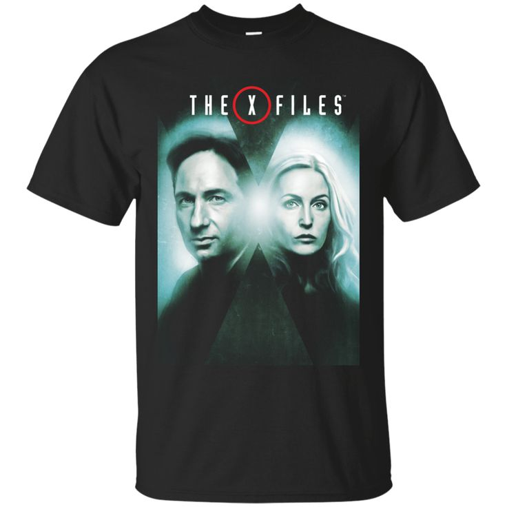 The X-Files TV series Black Men's T-Shirt