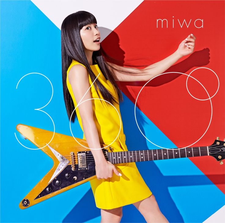 "SONY MUSIC ""miwa / 360°"" 2015CD JACKET 映画「ドラえもん のび太の宇宙英雄記」主題歌"