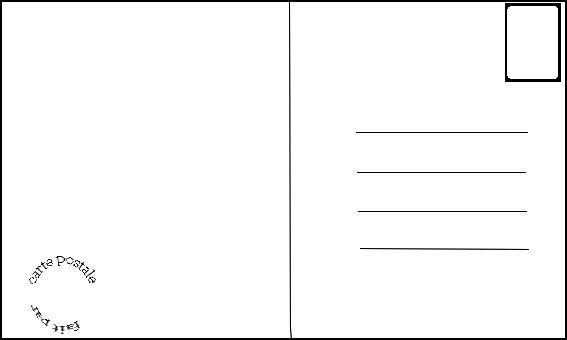 Résultats de recherche d'images pour «carte postale dessin»