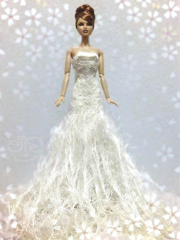 barbie doll evening gowns qw