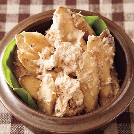ごぼうツナサラダ | 荻野恭子さんのサラダの料理レシピ | プロの簡単料理レシピはレタスクラブネット