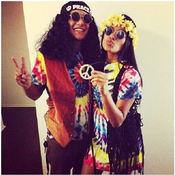 Pin for Later: Easy Halloween Costume Ideas Straight Outta Your Closet Hippie