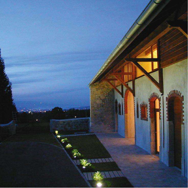 Rehabilitation d'une ferme en une habitation et un local d'activite - Neydens - CAUE Haute-Savoie