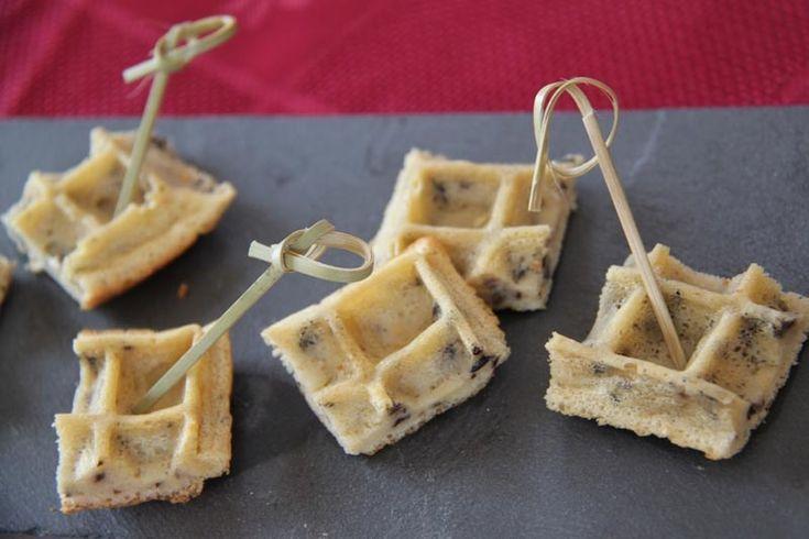 Gaufres apéritives aux olives (recette Tupperware) - Les petits plats de Patchouka