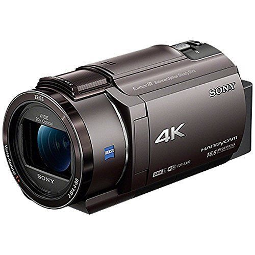 SONY 4K video camera Handycam FDR-AX40 bronze Brown 20x optical FDR-AX40-TI