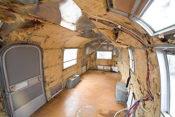 Timeless Airstream Interior Restoration of a 1968 Safari 22'