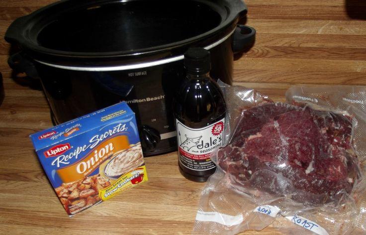 Venison Roast / Crock Pot