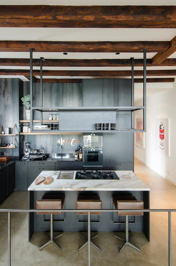 Vipp Keuken Modules : KITCHEN op Pinterest – Zwarte Keukens, Industrieel en Keukens