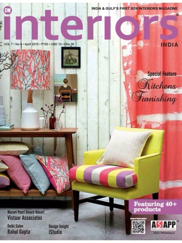 CW Interiors Publishes One More Magazine Issue In The Month Of April 2015
