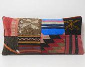 shabby chic cushion throw cushion floor pillow bed cushion cover big decorative pillow handmade cushion DECOLIC patchwork kilim pillow 16473