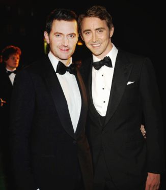 Richard Armitage and Lee Pace.  Allegedly dating = HAWT!
