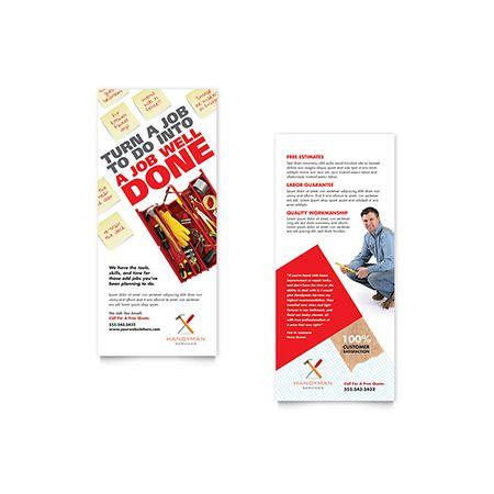 Best Design  Rack Cards Images On   Card Designs
