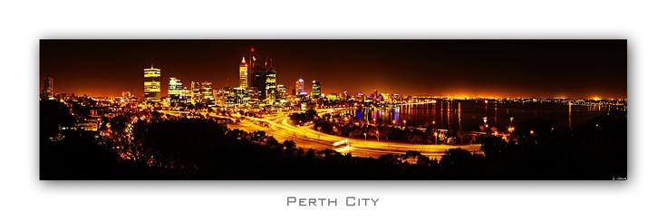 Perth skyline 8 image stitch