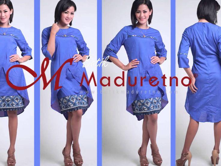 Dress Batik Tulis Madura Cantik, Batik Maduretno http://batikmadurteno.com