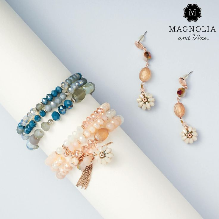 New Beaucoup, how do you do? Introducing the Florine collection, beautiful beaded earrings, bracelets, and necklaces you can wear solo or layer on for a coordinated look. Tres chic! Shop at www.SparkleSnaps.com