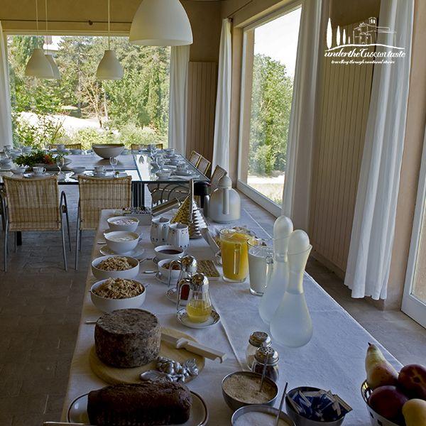 Breakfast in Abbazia di Spineto. www.underthetuscantaste.com www.abbaziadispineto.com