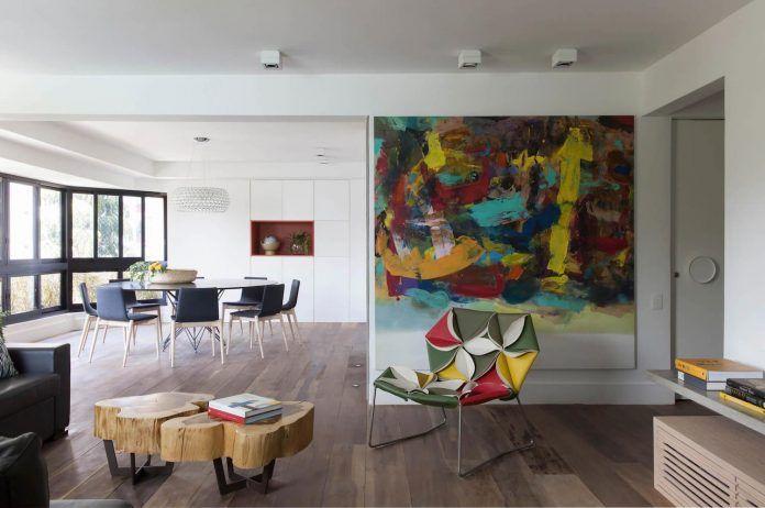 Charming Inspiring Morumbi Apartment, A 220 Square Meters Home In Sao Paulo    CAANdesign